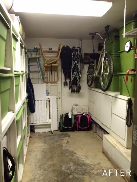 Small Garage Closet