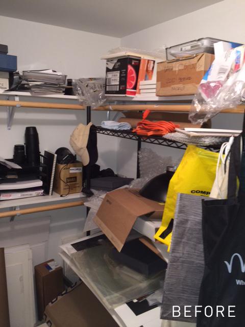 Small Work Closet