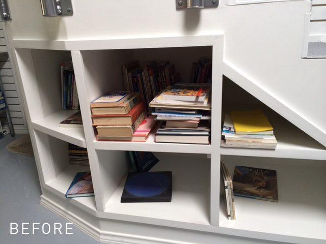 Deep Bookcase